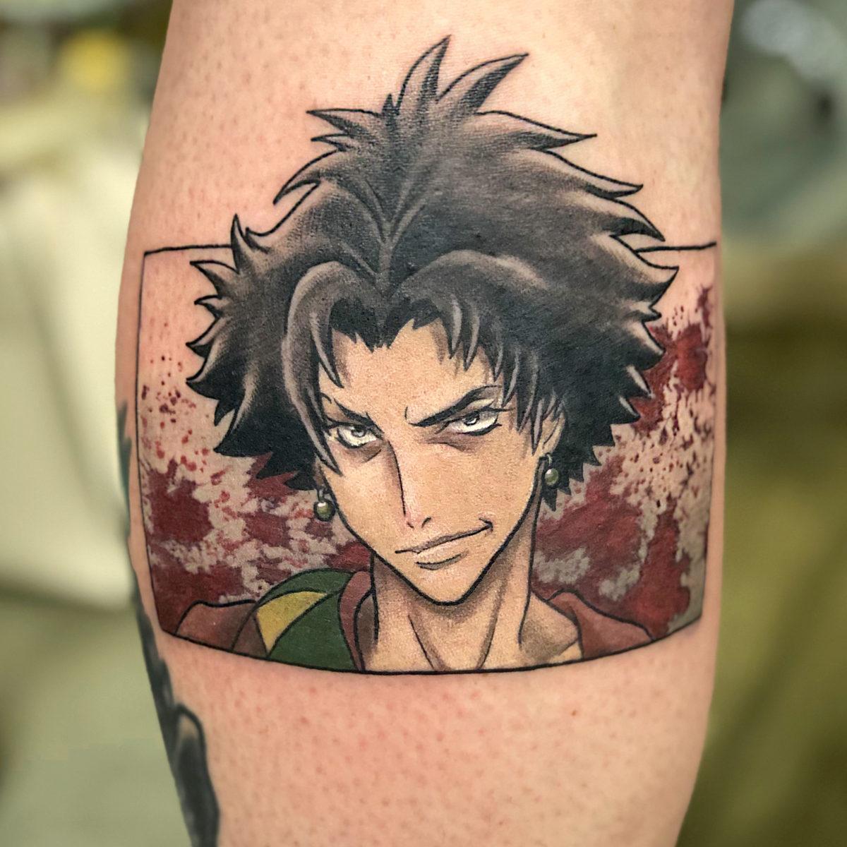 anime manga samurai champloo colour nerdy tattoo